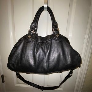 Marc by Marc Jacobs Buddha style leather bag black